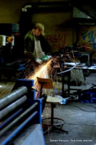 sylvain_perouze_sculpture_metal_meuleuse